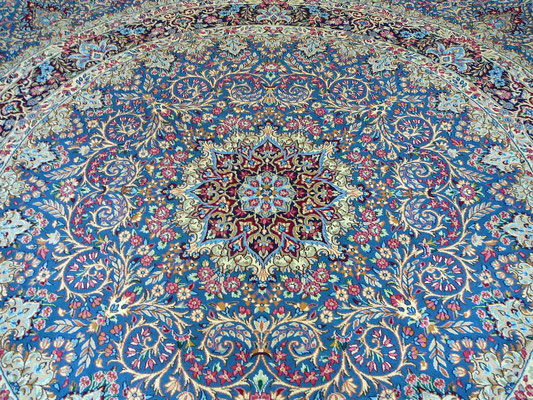 Tappeti tabriz carpet Udine, tappeto kirman lavar persiano misura 300x300