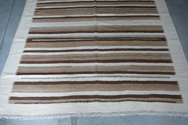 tappeti tabriz carpet, kilim moderno 100% lana filato a mano con colori naturali