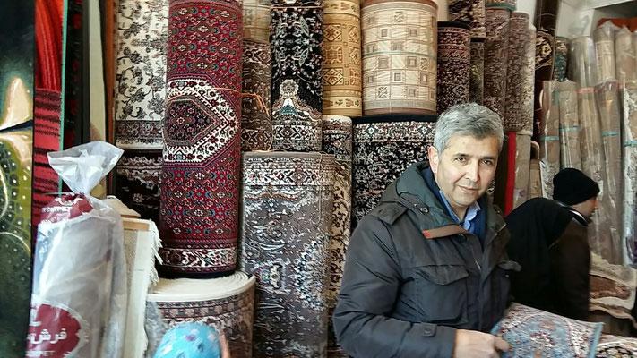 Tappeti tabriz carpet udine, titolare sig. Zrepour Javad in Iran per compreare tappeti