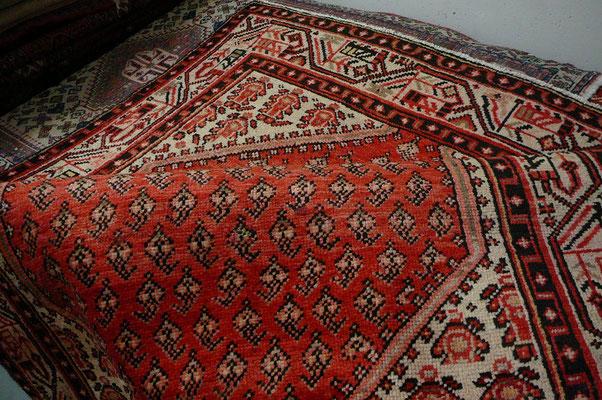 tappeti tabriz carpet Udine- tappeto antico persiano sarabanda con disegno bute miri