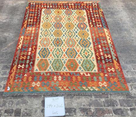 Kilim grande con colori naturali- tappeti tabriz carpet udine