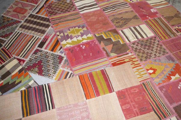 kilim moderni patchwork udine, offerta tappeti udine