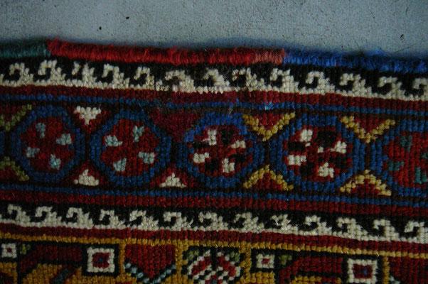tabriz carpet udine tappeto persiano gashgay antico dopo di riparazione