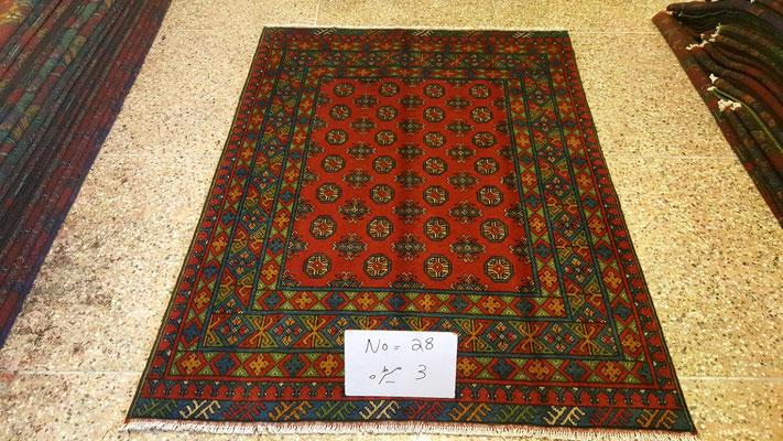 Tappeto bukara afgano- tappeti tabriz carpet udine