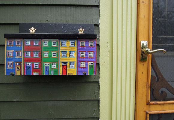Neufundlands Hauptstadt St. John's ist bunt – Häuser und Briefkästen