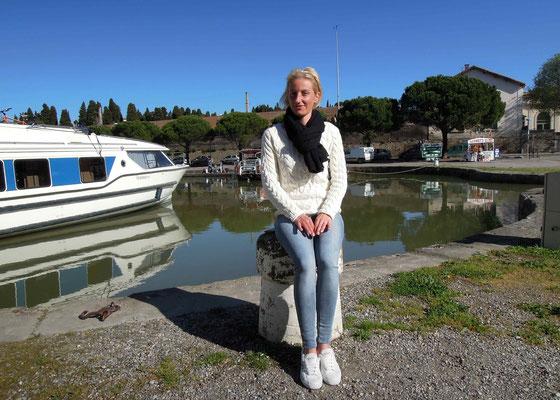 Hafenkapitänin Stéphanie Bourgain
