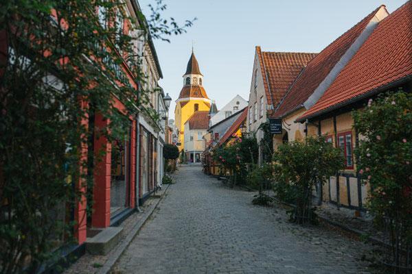Faaborg besitzt eine historische Altstadt. Foto: Michael Fiukowski & Sarah Moritz/PR