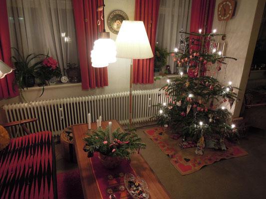 Die gute Stube: 1970er Jahre Weihnachten in einem dänischen Mittelklassehaushalt. Foto: C. Schumann, 2019