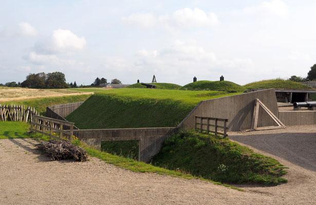 Die historischen Schanzen von Düppel sind heute Museum. Foto: C. Schumann, 2020