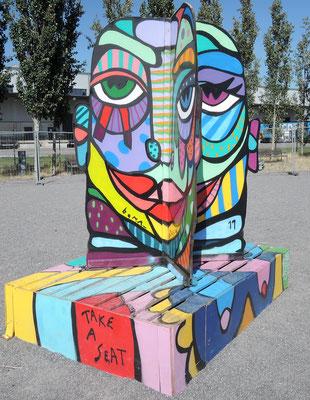 """""""Face Corner"""" des Berliner Künstlers Bona_Berlin. Foto: Christoph Schumann, 2020"""