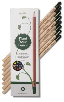 Mit dem Sprout Pencil, der nach Gebrauch zu Pflanzen wird, fing der Erfolg an. Foto: PR