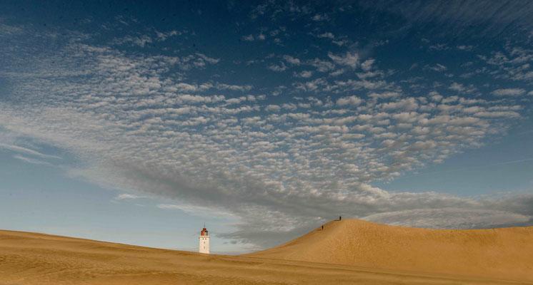 Weltbekannt: Der Leuchtturm Rubjerg Knude Fyr zog 2019 um. Foto: PR/VisitDenmark/Mette Johnsen
