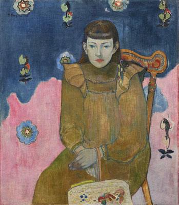 Paul Gauguin: Portrait einer jungen Frau. Ordrupgaard, Kopenhagen. Copyright Foto: Anders Sune Berg/PR