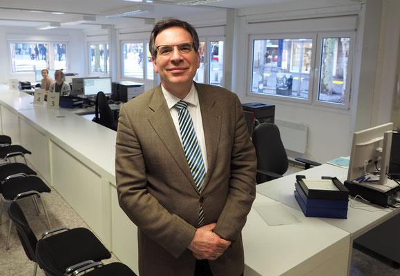 Tom Oelrichs vom Bezirk Hamburg Nord ist zuständiger Bezirkswahlleiter. Foto: C. Schumann, 2020