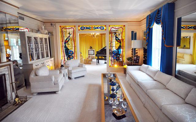 So lebte Elvis Presley in seiner Villa Graceland. Foto: PR/Memphis&Mississippi