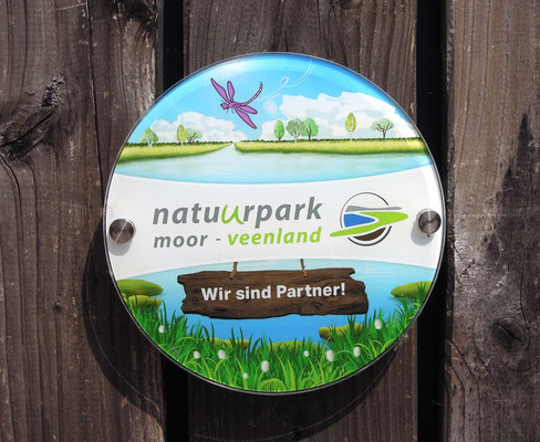 Logo des Natuurparks Moor-Veenland. Foto: C. Schumann