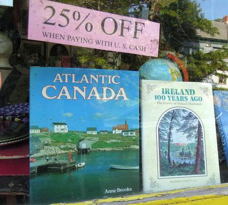 Ein Klassiker: Bildband zu unserem Reiseziel Atlantik Kanada
