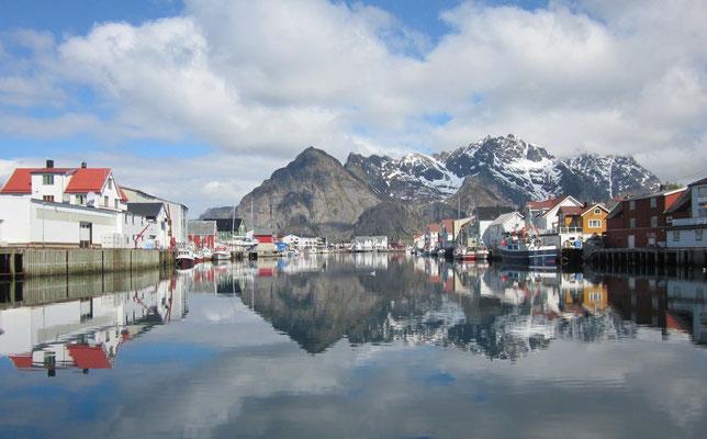 Die nordatlantischen Lofoten bei Å