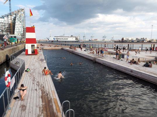 Aarhus' neues Hafenbad wurde im Sommer eröffnet. Foto: Christoph Schumann, 2018