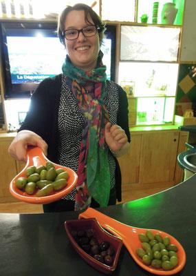 Oliven gehören zu Südfrankreichs Spezialitäten: in der Cooperative Oleicolle L'Oulibo in Bize-Minervois