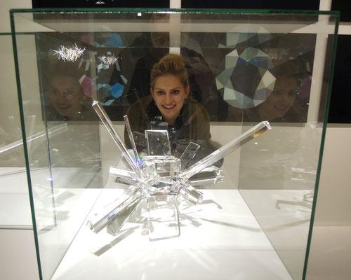 Blick in eine der Wunderkammern der Swarovksi Kristallwelten. Foto: C. Schumann