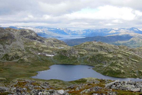 Auf dem 1497 Meter hohe Totten bei Hemsedal