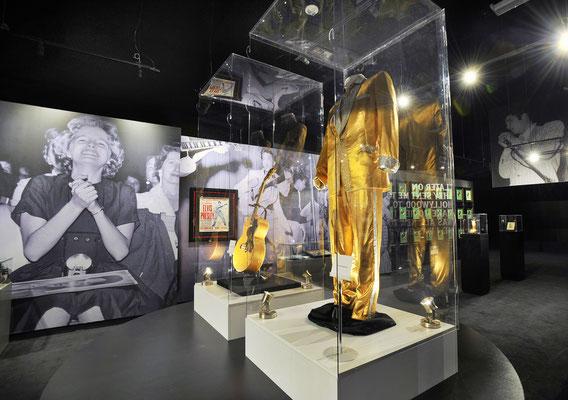 Blick ins heutige Museum der Graceland Mansion in Memphis. Foto: PR/Memphis&Mississippi