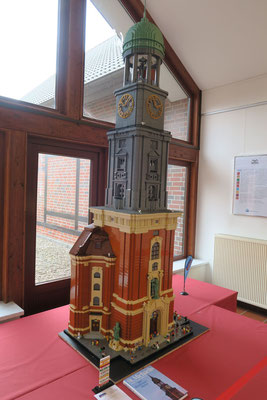 Der Hamburger Michel in Lego. Foto: FMSH/PR