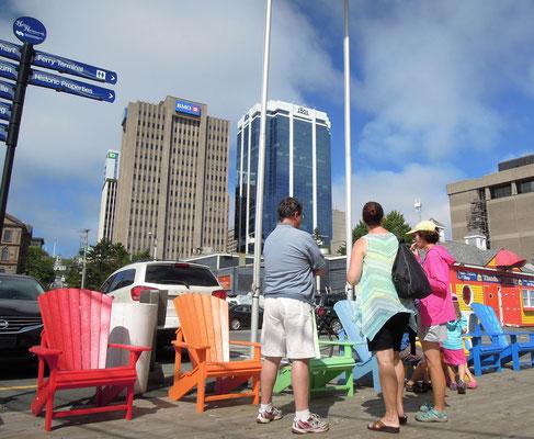 Halifax – am Hafen der Hauptstadt von Nova Scotia ist immer was los