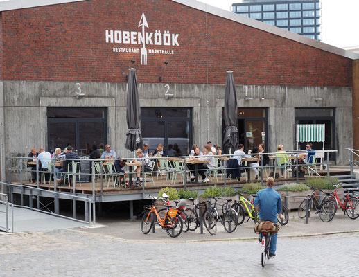Ein Güterabfertigung, heute Restaurant - das Hobenköök. Foto: C. Schumann 2019/2020