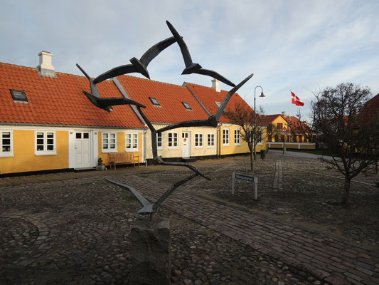 In Sæbys Altstadt. Foto: C. Schumann, 2020