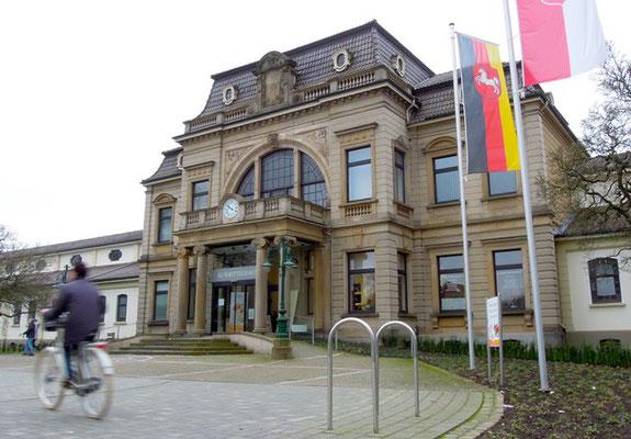 Klassische Jahrhundertwende: Das Kurmittelhaus in Bad Rothenfelde. Foto: Christoph Schumann, 2020