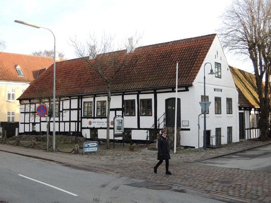 Das Sæby Museum ist Teil des nordjütländischen Kystmuseums. Foto: C. Schumann, 2020