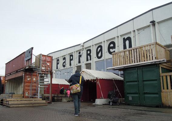 Hereinspaziert: Eingang zu Copenhagen Street Food auf Papirøen. Foto: C. Schumann