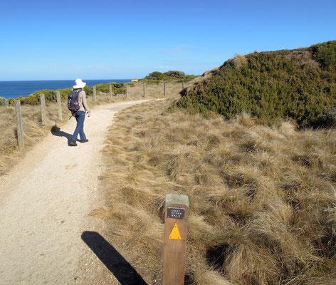 Wanderung auf dem Great Ocean Walk in Victoria. Foto: C. Schumann