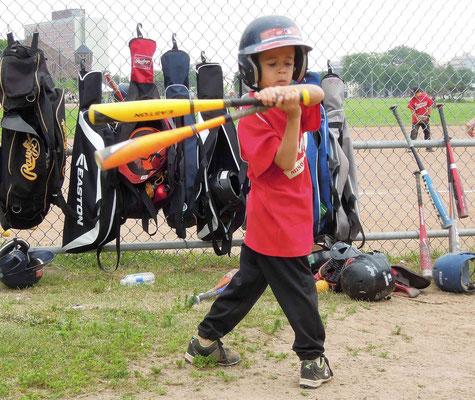 Halifax - Baseball ist auch in Kanada Nationalsport, schon bei den Jüngsten