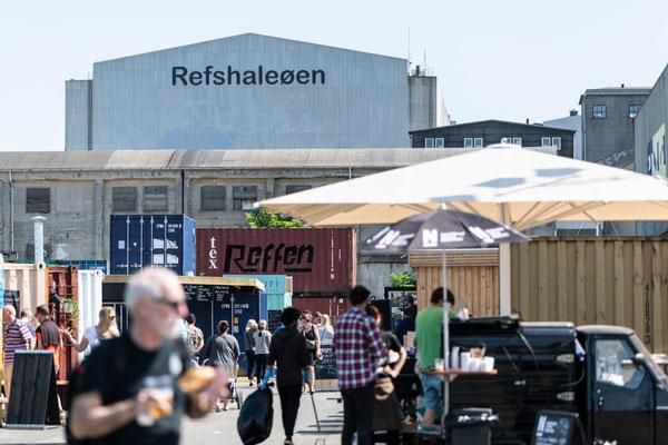 Reffen - Kopenhagens neuer Street Food Markt hat im Mai 2018 eröffnet. Foto: Reffen/Martin Kaufmann/PR