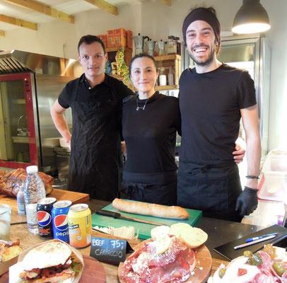 Das Angebot von Copenhagen Street Food reicht von italienisch ....