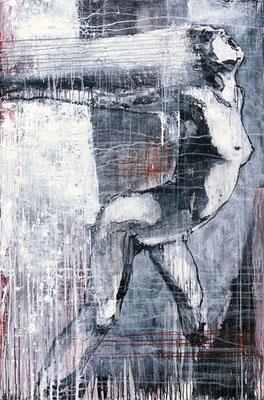 """Kreuz Nr.6"" | Acryl auf Sperrholz | 112x172cm"
