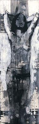 """Kreuz Nr.5"" | Acryl auf Sperrholz | 60x192cm"