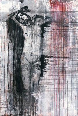 """Kreuz Nr.3"" | Acryl auf Sperrholz | 114x172cm"