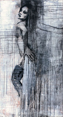 """Kreuz Nr.1"" | Acryl auf Sperrholz | 90x172cm"
