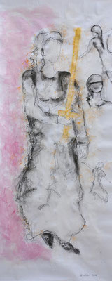 Katharina, 210 x 80 cm