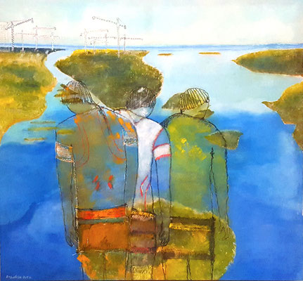 Xingu 135 x 145 cm