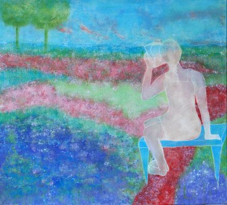 Ist die Schönheit eine illusion? 160 x 170 cm