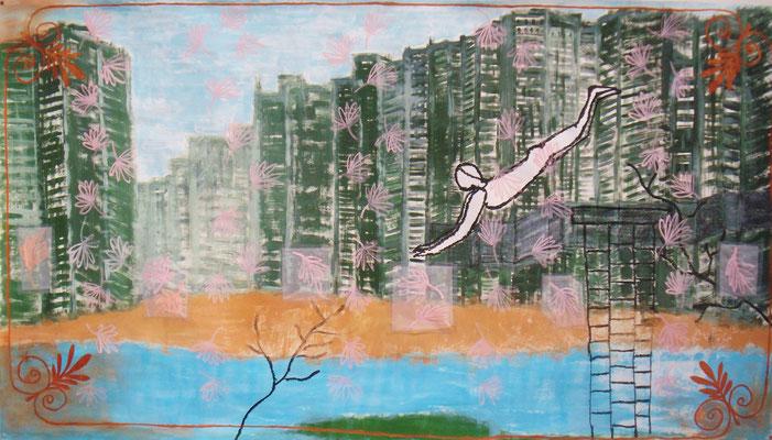 Putuo Distric, Shanghai 130 x 228 cm