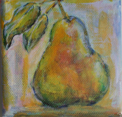 Akryl auf Leinwand, 10 x 10 cm, Susanna Schürch 2020