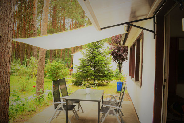Terrasse, Sonne, Urlaub, Wald, Rheinsberg