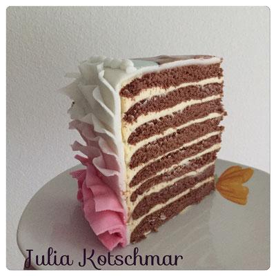 Schoko-Honig Torte