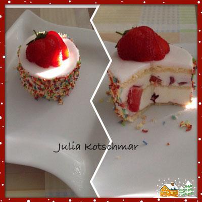 Erdbeer Schnitt